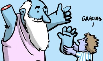 O Μαραντόνα επέστρεψε το... χέρι στο Θεό (pic, vid)