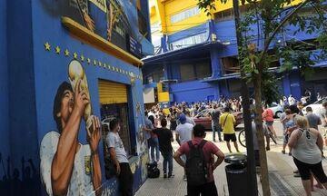 Μαραντόνα: Ένα δάκρυ όλη η Αργεντινή - Οπαδοί της Ρίβερ στο Μπομπονέρα (pics)