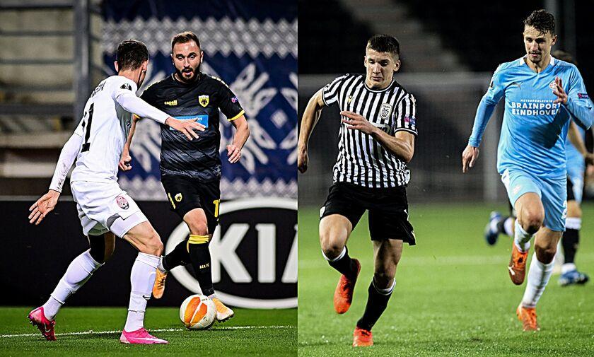 Europa League: «Μάχες» για ΑΕΚ και ΠΑΟΚ σε ΟΑΚΑ και Ολλανδία