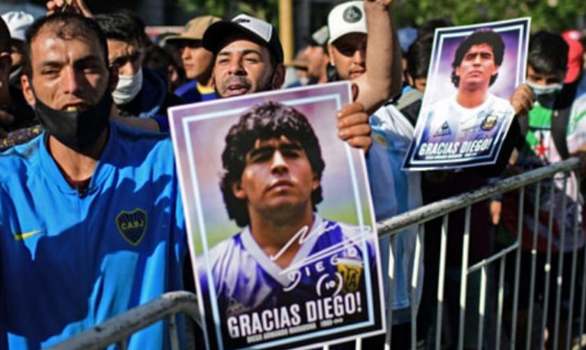 Θάνατος Μαραντόνα: Η Πρεσβεία της Αργεντινής άνοιξε εικονικό βιβλίο συλλυπητηρίων