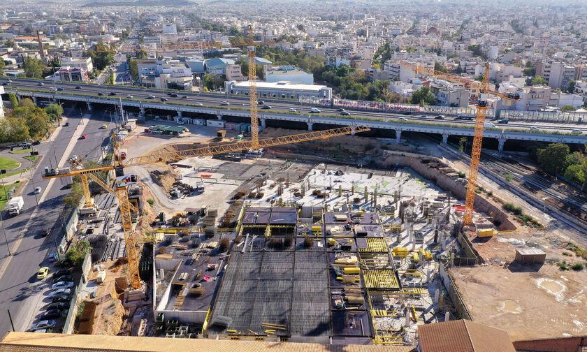 Προχωρούν οι εργασίες στο «πράσινο» εμπορικό πάρκο στην Πειραιώς (pic)