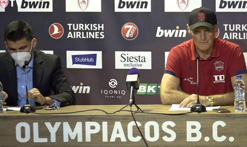 Ιβάνοβιτς: «Νικήσαμε τον Ολυμπιακό μετά από 13 χρόνια στο ΣΕΦ»
