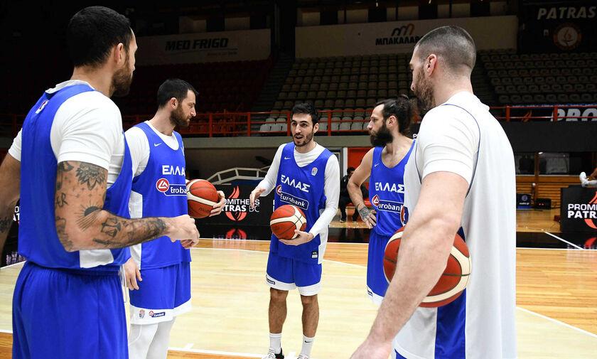 Προκριματικά EuroBasket 2022: Με Λετονία η Ελλάδα για το 3/3