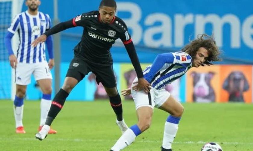 Bundesliga: Η Λεβερκούζεν «σκόνταψε» (0-0) στη Χέρτα (highlights)