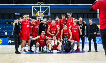 Προκριματικά Ευρωμπάσκετ 2022: Η Δανία κέρδισε τη Λιθουανία, νέα ήττα η Τουρκία