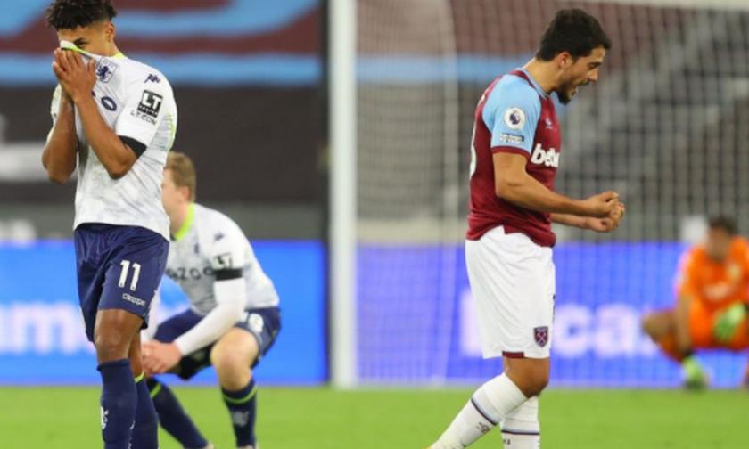 Premier League: Η Γουέστ Χαμ και το VAR λύγισαν την Άστον Βίλα (Highlights)