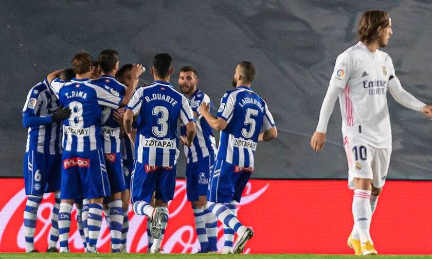 Ρεάλ Μαδρίτης - Αλαβές: Το πέναλτι του Λούκας για το 0-1 (vid)
