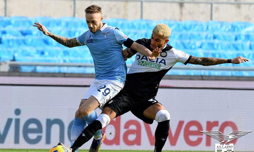 Λάτσιο-Ουντινέζε: Από νωρίς πίσω με 0-2 οι «λατσιάλι» (vids)