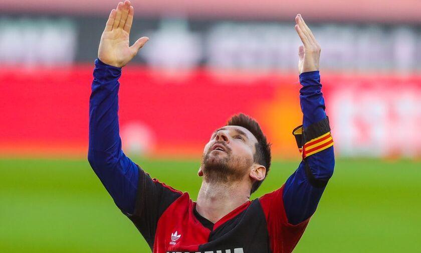 Δάκρυσε ο πλανήτης με Μέσι: Αφιέρωσε το γκολ στον Μαραντόνα με μπλούζα Νιούελς Όλντ Μπόις (pics-vid)