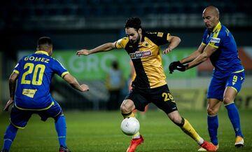 Αστέρας Τρίπολης - ΑΕΚ: Τα 2 γκολ στο πρώτο ημίχρονο (vid)