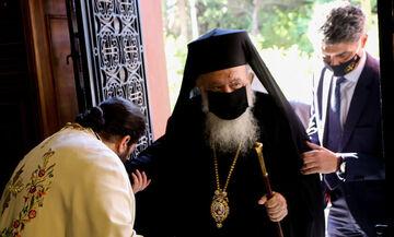 Κορονοϊός: Πήρε εξιτήριο ο Αρχιεπίσκοπος Ιερώνυμος