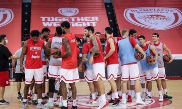 Ολυμπιακός-Κολοσσός: Επιστροφή στη δράση για τους παίκτες που είχαν βγει θετικοί