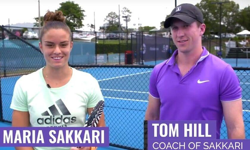 Δεν κρατιέται η Σάκκαρη για το Australian Open! (vid)