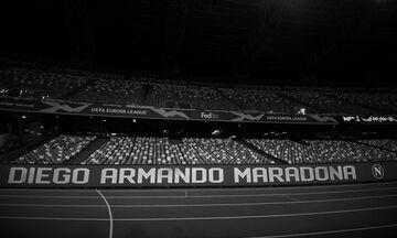 Νάπολι: Επίσημα πλέον το γήπεδο ονομάζεται σε «Ντιέγκο Αρμάντο Μαραντόνα»