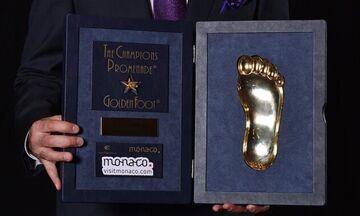 Στον Κριστιάνο Ρονάλντο το βραβείο «Golden Foot» του 2020!