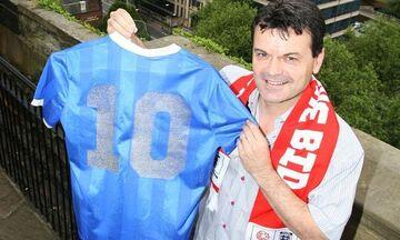 Στιβ Χοτζ: Πήρα τη φανέλα του Μαραντόνα από το ματς με την Αγγλία, αλλά δεν είναι προς πώληση!