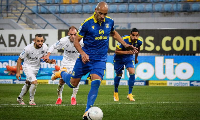 Αστέρας Τρίπολης: Εκτίει ποινή κόντρα στον ΠΑΟΚ ο πρώτος σκόρερ του πρωταθλήματος Μπαράλες