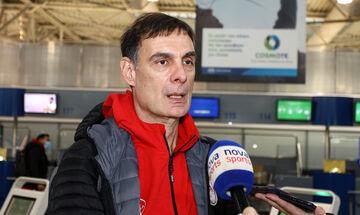 Μπαρτζώκας: «Είμαστε σχεδόν όλοι, να παίξουμε καλή άμυνα κόντρα στην ΤΣΣΚΑ Μόσχας»