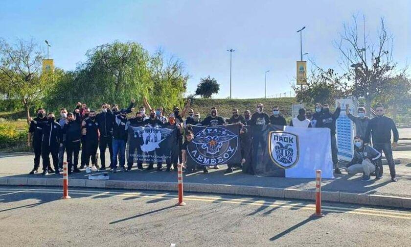 Καταζητούνται οπαδοί του ΠΑΟΚ από την κυπριακή Αστυνομία (vids)