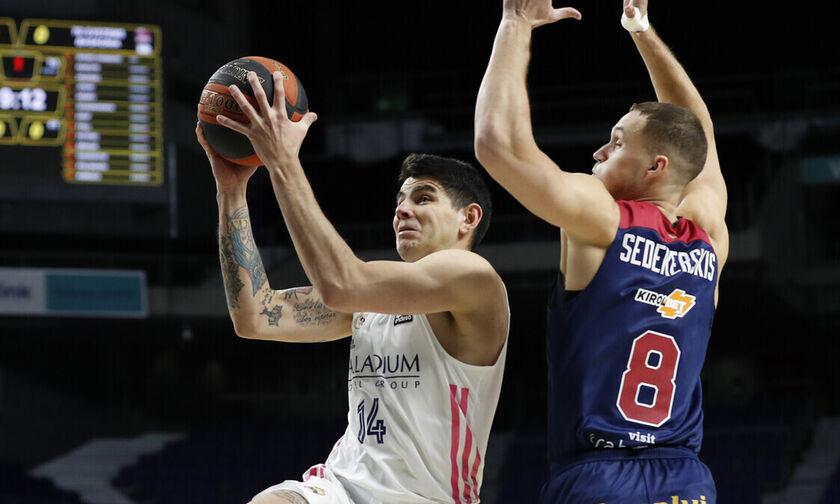 ACB: H Ρεάλ νίκησε 92-83 τη Μπασκόνια και συνεχίζει αήττητη (pic)
