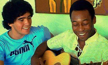 Πελέ για Μαραντόνα: «Μια μέρα στον παράδεισο θα παίξουμε μαζί. Σ' αγαπώ»