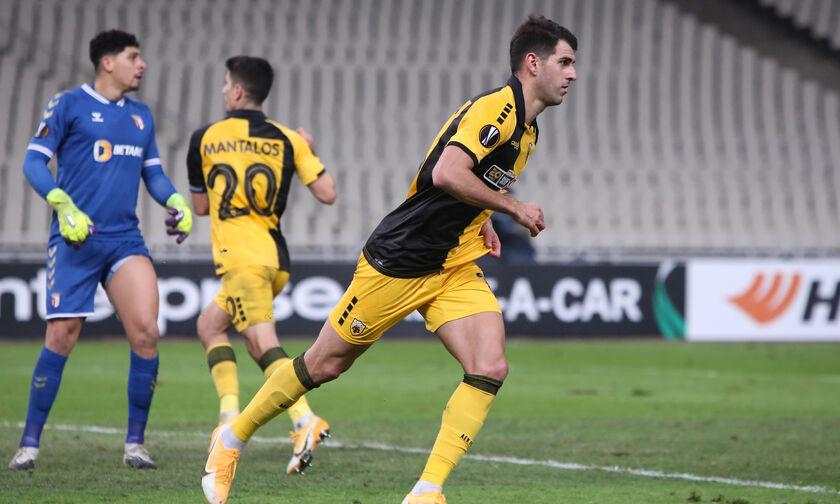 ΑΕΚ - Μπράγκα: Το γκολ του Ολιβέιρα για το 1-2 (vid)