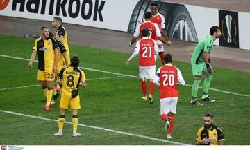 ΑΕΚ – Μπράγκα 2-4: Εκτός Ευρώπης με νέα συντριβή… (highlights)