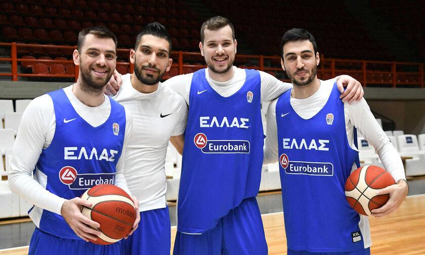 Εθνική Ανδρών: Στη Ρίγα οι αγώνες με Βοσνία Ερζεγοβίνη και Λετονία