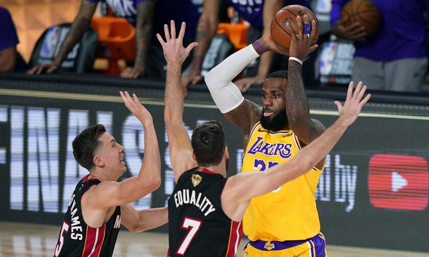 Χιτ - Λέικερς: Στις 20/2 η ρεβάνς των τελικών του NBA