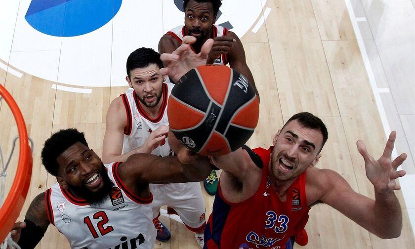 Euroleague: Το Top-10 με Σπανούλη-Ζαν Σαρλ και μπόλικο ΤΣΣΚΑ-Ολυμπιακός (vid)