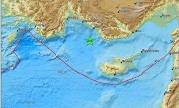 Σεισμός στην Τουρκία - Έγινε ιδιαίτερα αισθητός στη Ρόδο