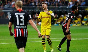Bundesliga: Έχασε ξανά βαθμούς η Ντόρτμουντ, 1-1 στη Φρανκφούρτη (highlights)