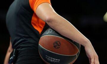 Euroleague: Οι διαιτητές του Ολυμπιακού με Μπαρτσελόνα και Ερυθρό Αστέρα