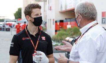 Haas: Χάνει και το Grand Prix του Αμπού Ντάμπι ο Γκροζάν