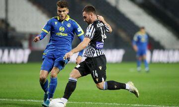 ΠΑΟΚ - Αστέρας Τρίπολης: Το πέναλτι του Ζίβκοβιτς για το 2-0 (vid)