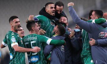 ΑΕΚ – Παναθηναϊκός 1-2: «Πράσινος» θρίαμβος στο ντέρμπι (highlights)!