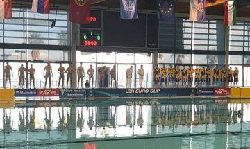 LEN Euro Cup: Τιμωρία για Βαζούτας, στους «16» η Μπαρτσελόνα
