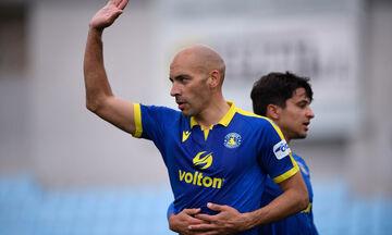 Αστέρας Τρίπολης - Βόλος: Το γκολ με πέναλτι του Μπαράλες για το 1-0 (vid)