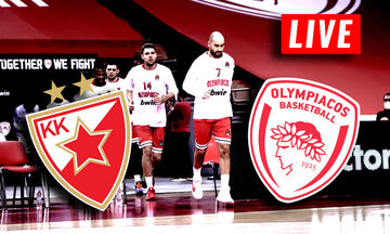 LIVE: Ερυθρός Αστέρας - Ολυμπιακός (20:00)