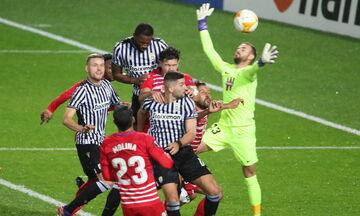 ΠΑΟΚ - Γρανάδα 0-0: Αντίο Ευρώπη με ρεκόρ (highlights)