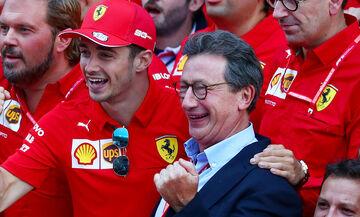 Ferrari: Παραίτηση - έκπληξη του Καμιλέρι