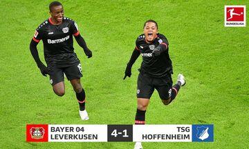 Bundesliga: H Λεβερκούζεν με «τεσσάρα» στην κορυφή του πρωταθλήματος (Highlights)