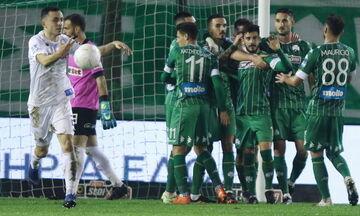 Παναθηναϊκός - ΠΑΣ Γιάννινα: Το πέναλτι του Σάλιακα και το γκολ του Βιγιαφάνιες για το 1-0 (vid)