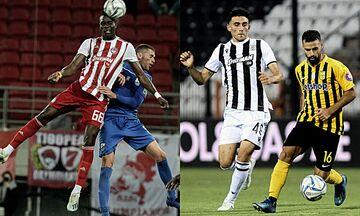 Super League: Στη Λαμία ο Ολυμπιακός, ντέρμπι στη Θεσσαλονίκη
