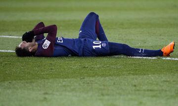 Νεϊμάρ: Σοβαρός τραυματισμός, έφυγε δακρυσμένος από το γήπεδο (vid)