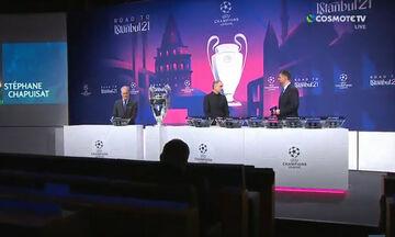 Κλήρωση Champions League: Μπαρτσελόνα - Παρί Σεν Ζερμέν στους «16» - Όλα τα ζευγάρια