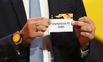 Κλήρωση Europa League: Με Αϊντχόφεν ο Ολυμπιακός στους «32»