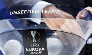 H κλήρωση των 32 στο Europa League - Όλα τα ζευγάρια