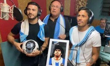 Ρότσα, Βιγιαφάνιες και άλλοι Αργεντινοί στην Ελλάδα τραγούδησαν στη μνήμη του Μαραντόνα (vid)
