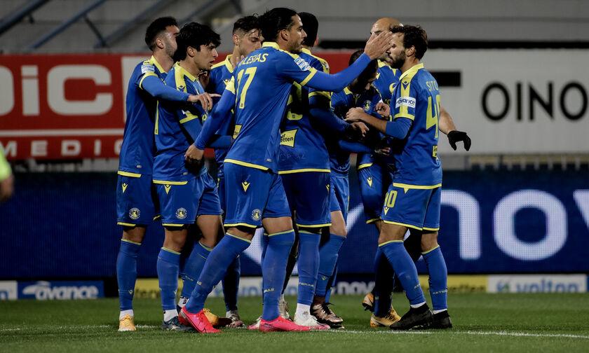 Αστέρας Τρίπολης - Ατρόμητος 2-0: Κυρίαρχος, μπήκε στην εξάδα! (Highlights)